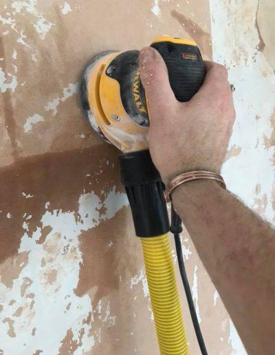 dustless sanding